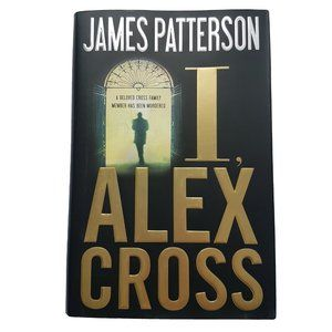 ☘️3/$30☘️ I, Alex Cross by James Patterson book